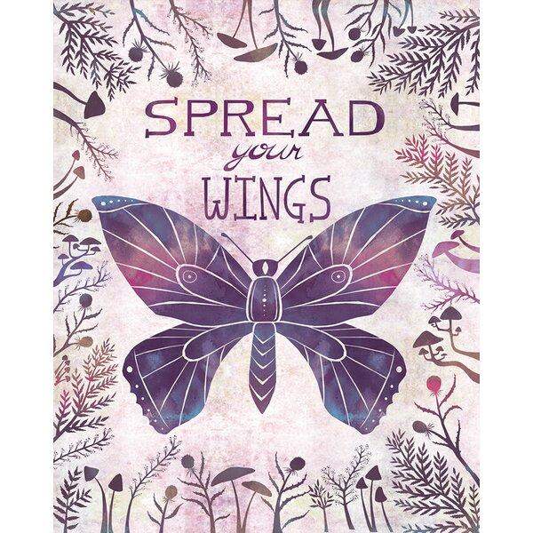 Spread Your Wings by Alice Feagan Canvas Art by Oopsy Daisy