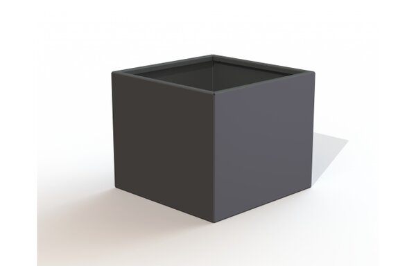 Rhone Square Metal Planter Box by Latitude Run