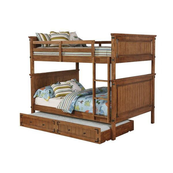 Velez Bunk Bed with Trundle by Harriet Bee