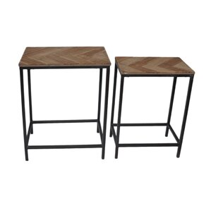 2 Piece Nesting Table by Cheungs