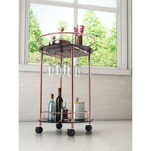 Rudisill Circular Bar Cart by Willa Arlo Interiors
