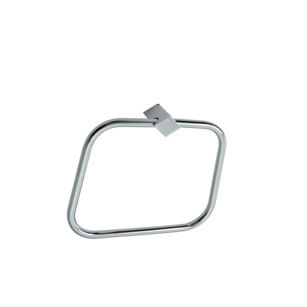 Fluid Wall Mounted Towel Ring by Stilhaus by Nameeks
