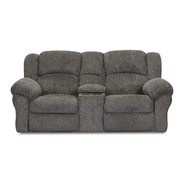 Thomason Console Reclining Loveseat By Canora Grey