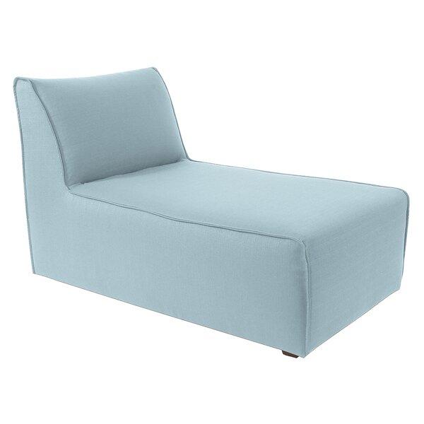 Solid Lounge T-Cushion Sofa Slipcover By Latitude Run