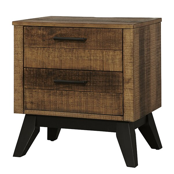 Hannigan 2 Drawer Nightstand by Isabelle & Max
