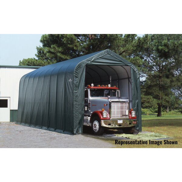 15 Ft. W X 20 Ft. D Garage By Shelterlogic.