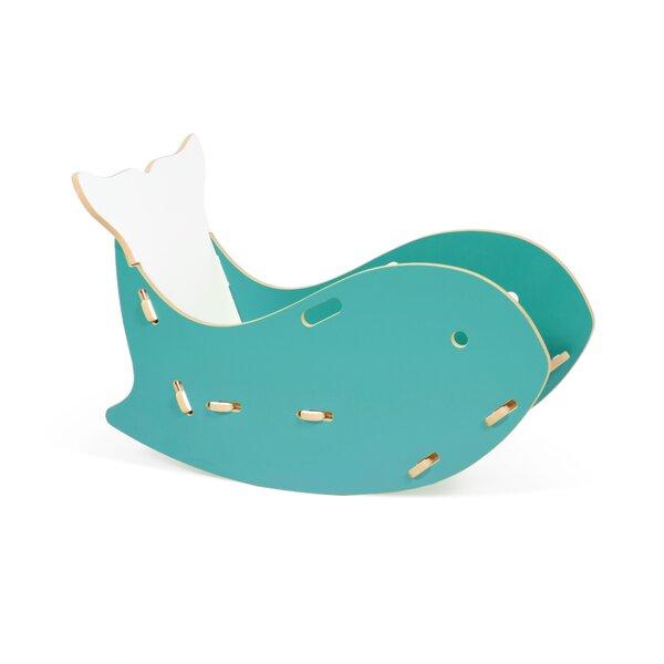 Halle Kids Whale Rocking Chair by Viv + Rae