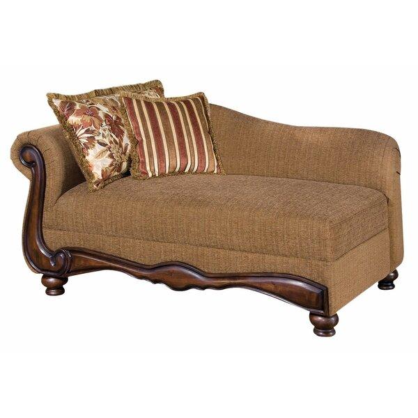 Goulart Left Front Arm Chaise Lounge by Fleur De Lis Living