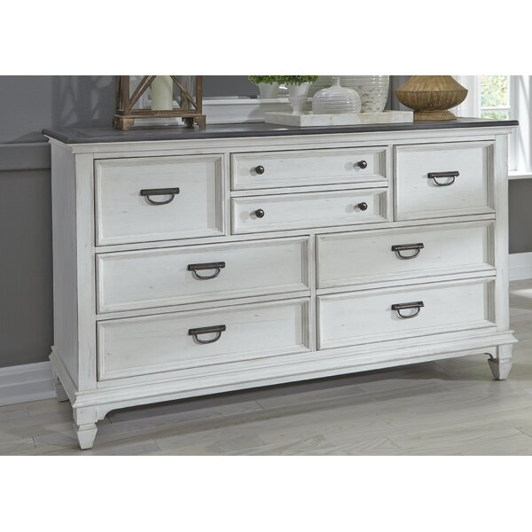 Gerth 8 Drawer Double Dresser by Ophelia & Co.