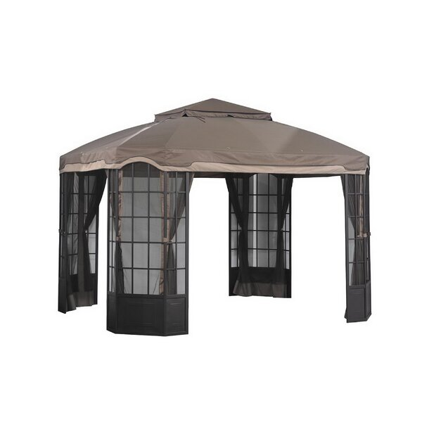 Replacement Canopy (Deluxe) for Bay Window Gazebo by Sunjoy