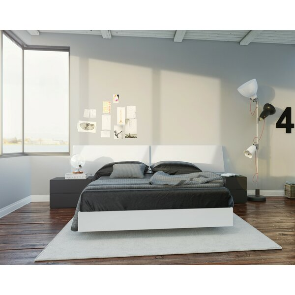 Euharlee Platform 3 Piece Bedroom Set by Wrought Studio