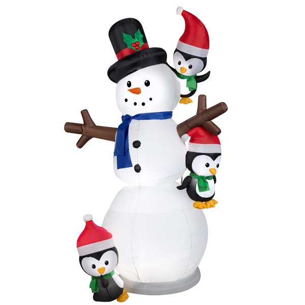 Swaying Snowman by The Holiday Aisle