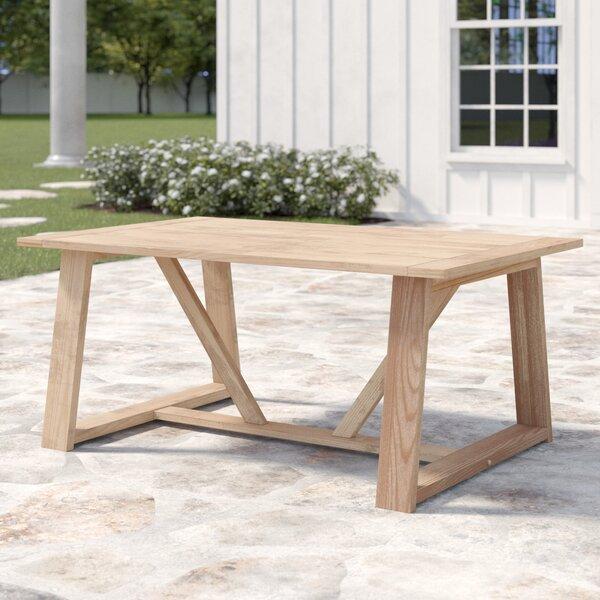 Mansfield Teak Coffee Table by Bayou Breeze