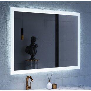Bargain Jaxson Hanging LED Lighted Vanity Mirror ByOrren Ellis