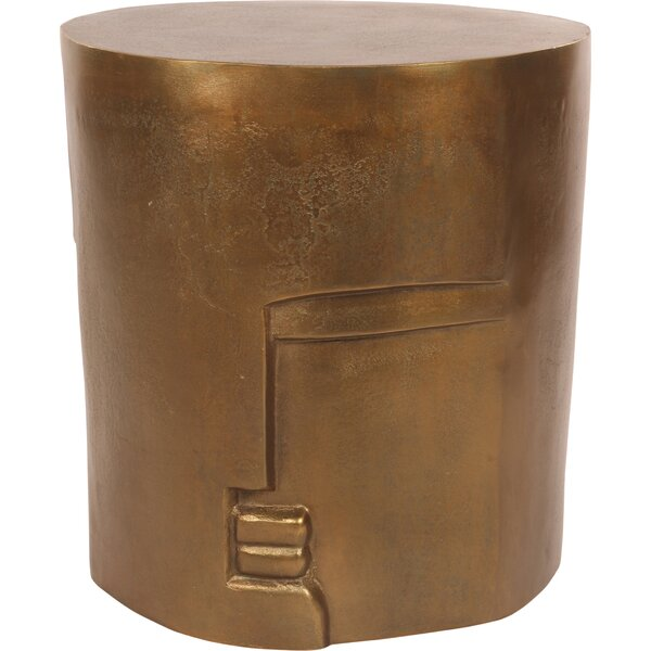 Zariyah Accent Stool by Bloomsbury Market