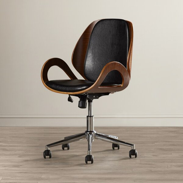 Torito Mid-Back Desk Chair by Langley Street