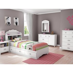 girl bedroom furniture. Tiara Twin Platform Configurable Bedroom Set Kids Sets