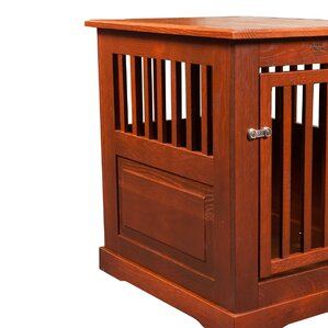 table dog crate. fortress pet crate table dog