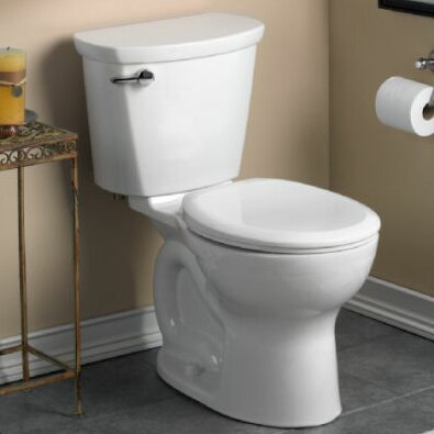 Cadet 1.28 GPF Round Two-Piece Toilet by American Standard
