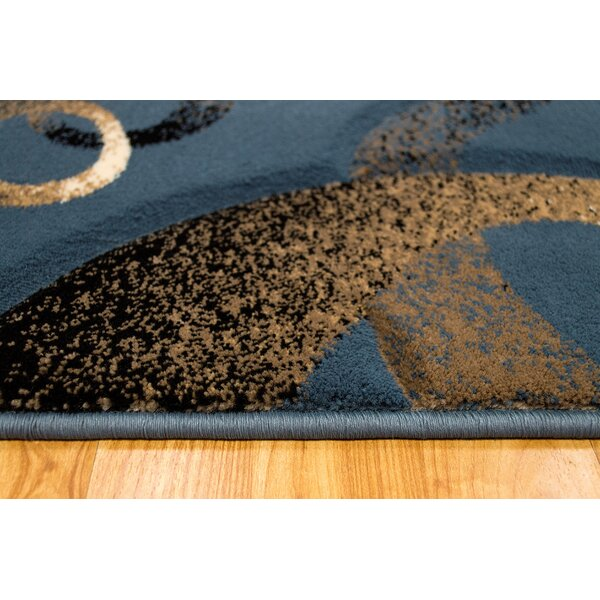 Light Blue Area Rug by Brady Home