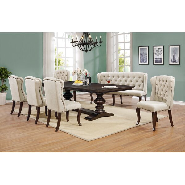 Kirt 7 Piece Dining Set by Canora Grey Canora Grey