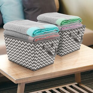 Savings Fabric Basket (Set of 2) ByEbern Designs