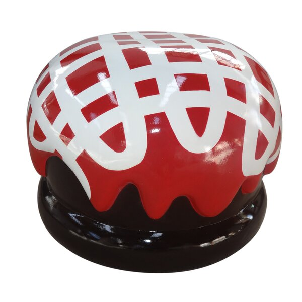 Melorse Covered Truffle Garden Stool by The Holiday Aisle