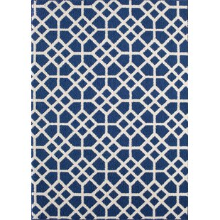 Ardsley Blue/White Area Rug By Beachcrest Home