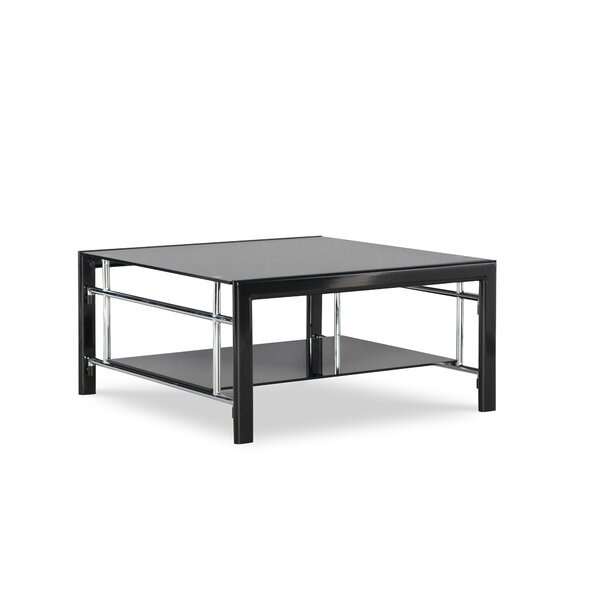 Pecos Coffee Table with Storage by Ebern Designs