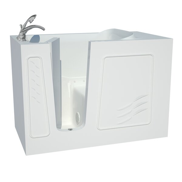Captains Series 53 x 30 Air/Whirlpool Jetted Bathtub by Therapeutic Tubs