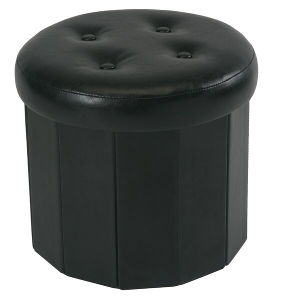 Hodgkins Collapsible Storage Ottoman by Winston Porter