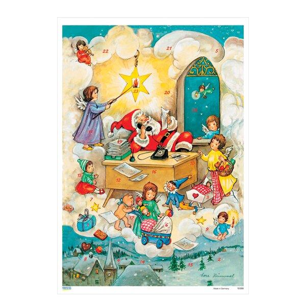 Korsch Santa at Desk Advent Calendar by Alexander Taron