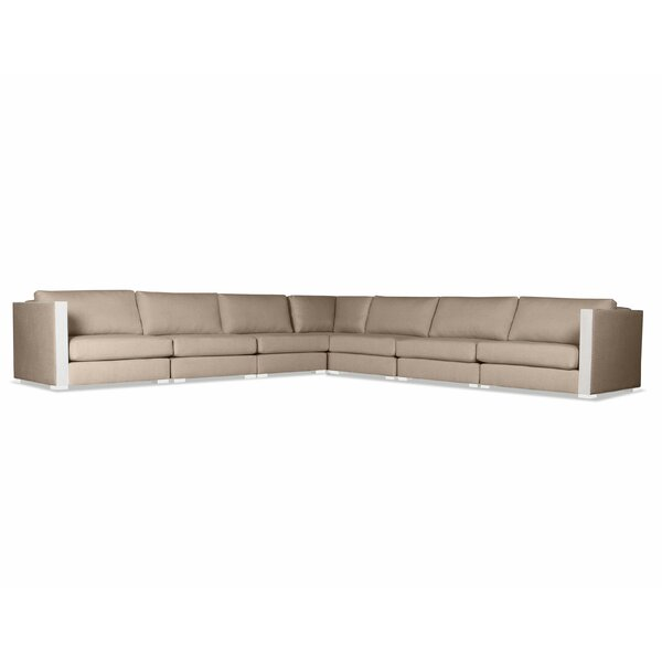 Steffi Symmetrical Right And Left Arms L-Shape Sectional By Orren Ellis