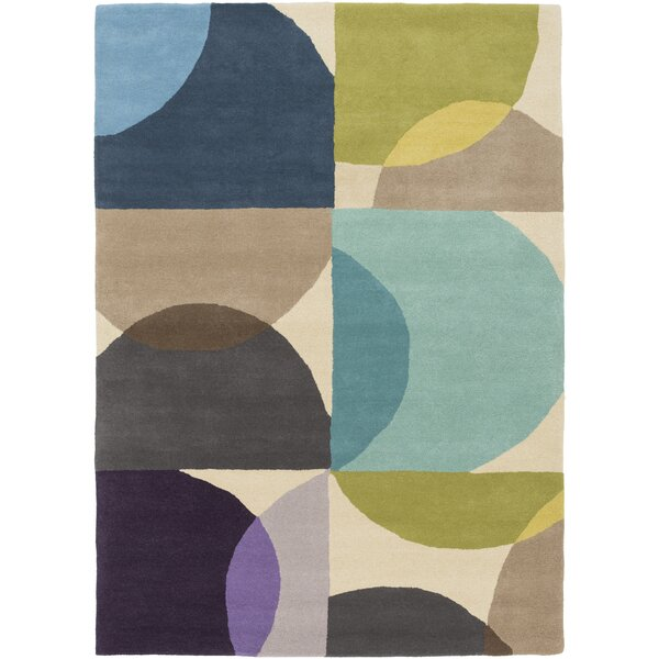 Morgana Hand-Tufted Blue Area Rug by Corrigan Studio