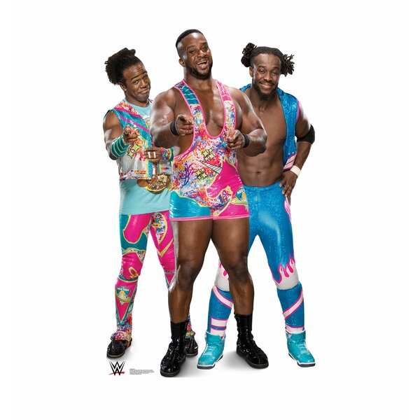 New Day - Big E, Kofi and Xavier (WWE) Standup by Advanced Graphics