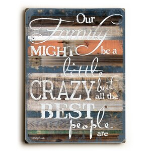 Our Family Textual Art by Andover Mills