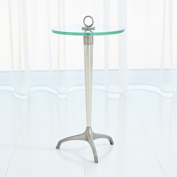 Tripod with Loop Handle End Table by Global Views Global Views