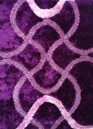 Heriberto Purple Area Rug by Latitude Run