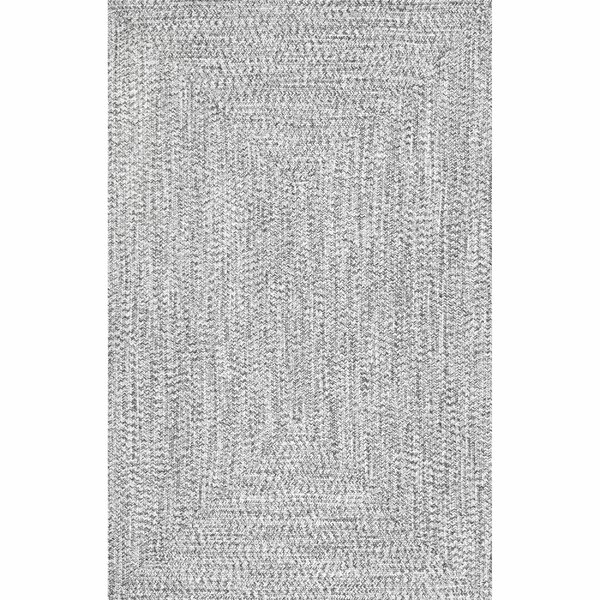 Kulpmont Gray Indoor/Outdoor Area Rug by Wade Loga