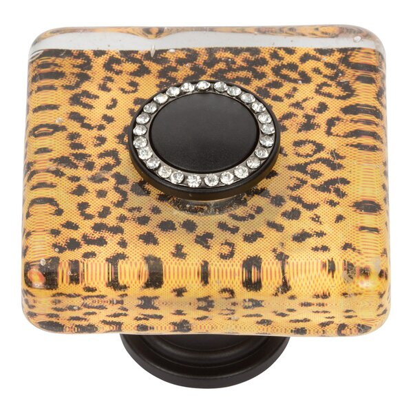 Cheetah Square Knob by Atlas Homewares