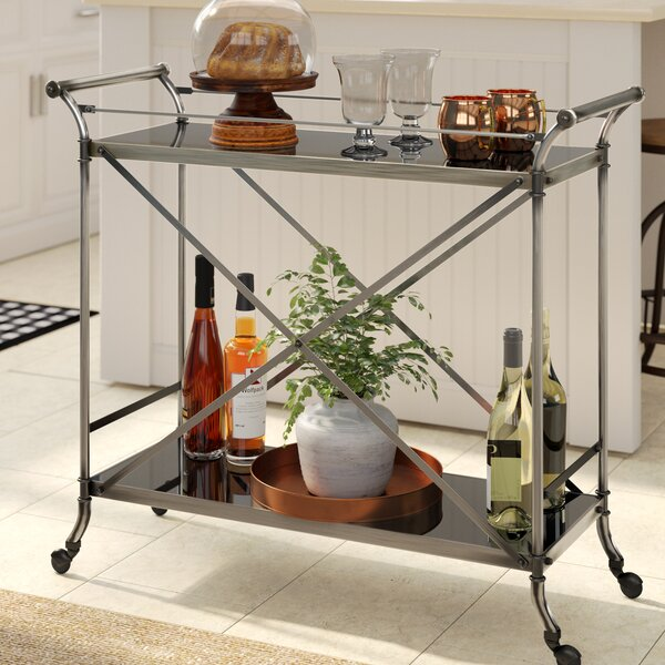 Kaufman Serving Bar Cart by Gracie Oaks
