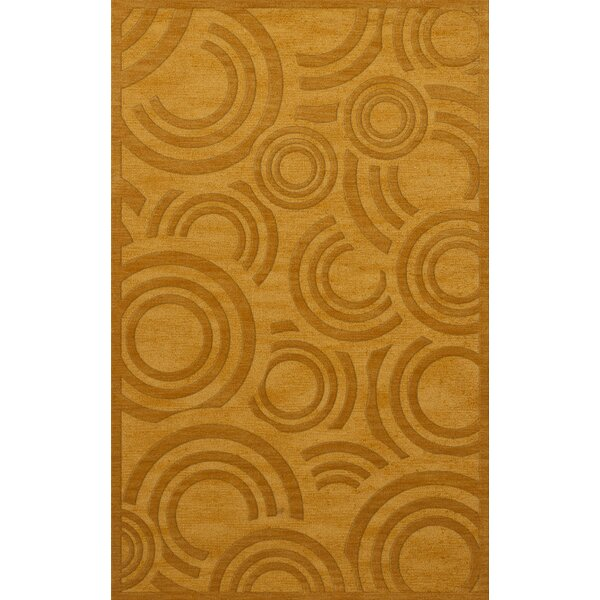 Dover Tufted Wool Butterscotch Area Rug by Dalyn Rug Co.