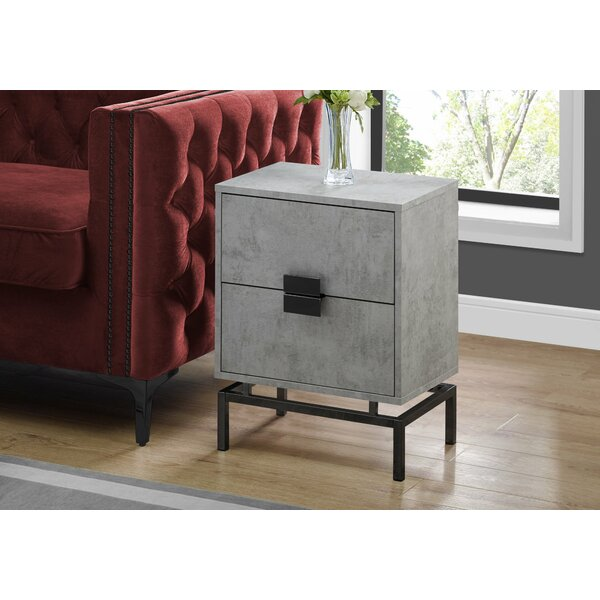 Douthat End Table with Storage by Ivy Bronx