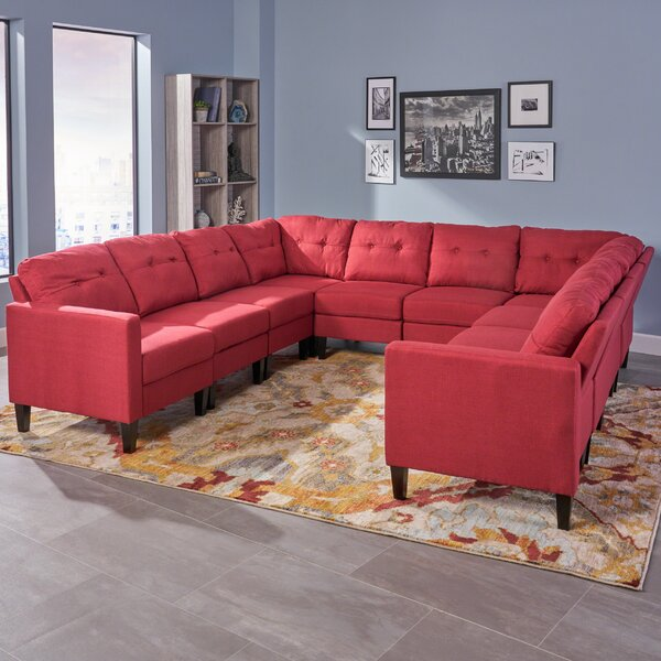 Mullenax Mid Century Modular Sectional by Ivy Bronx