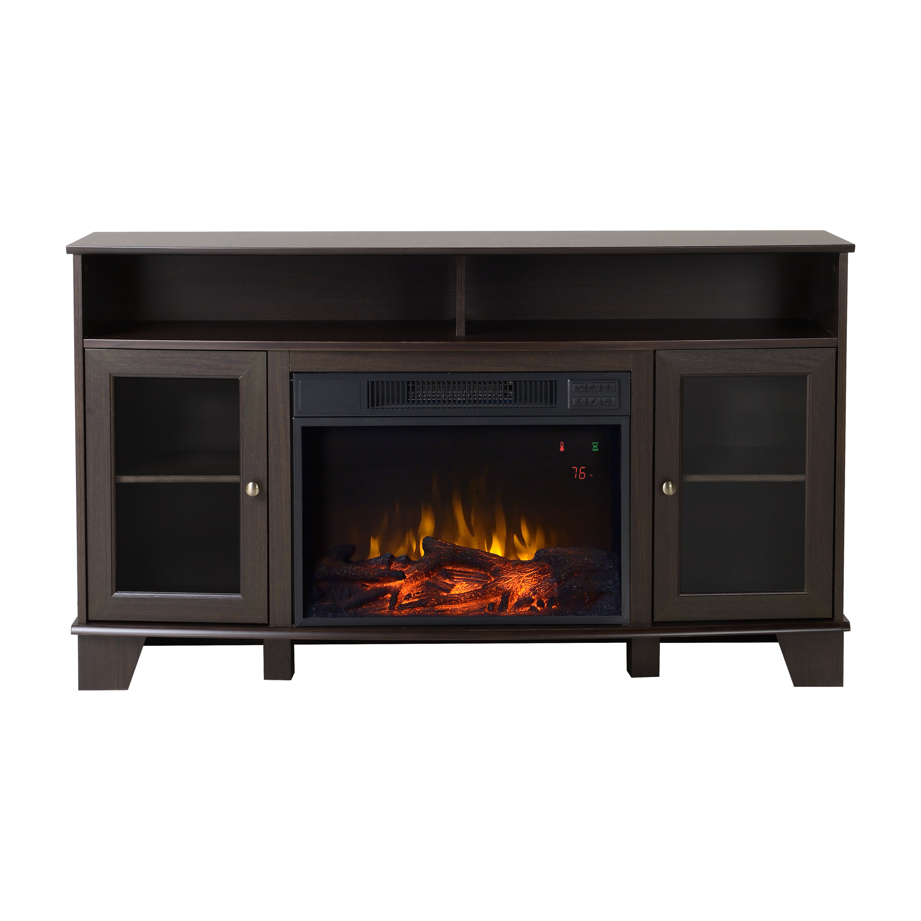kitchen ca cheap up tvs amazon for l black tv stand parsons electric fireplace to dp furniture altra home