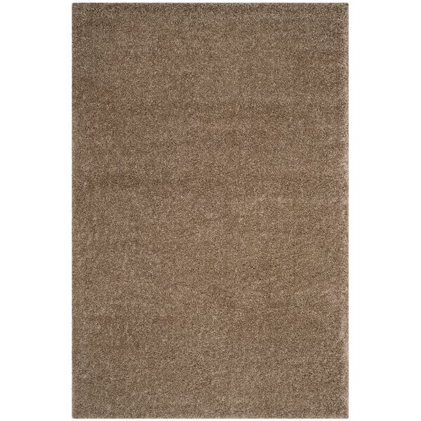 Curran Taupe Area Rug by Andover Mills