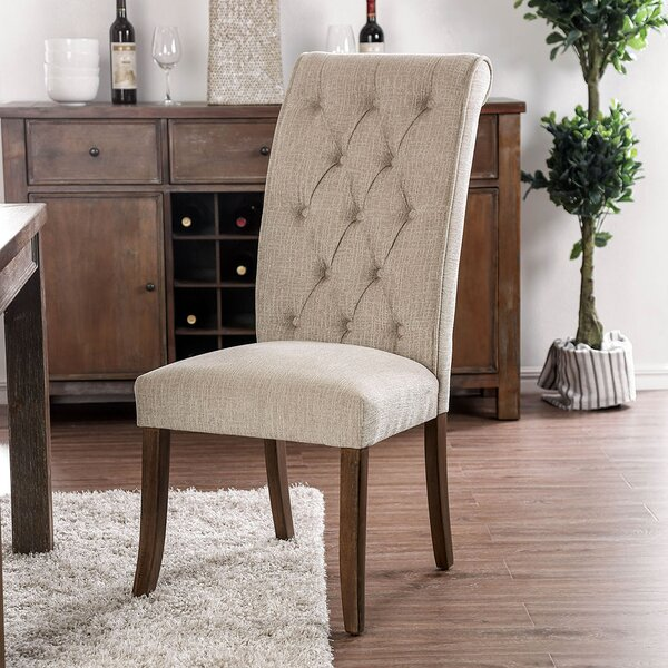 Kermit Upholstered Dining Chair (Set of 2) by Alcott Hill