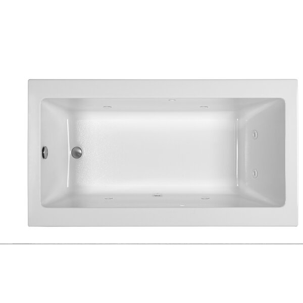 End Drain 66 x 36 Whirlpool Tub by Reliance