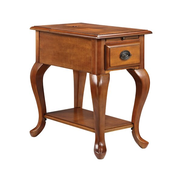 Miranda End Table With Storage By Alcott Hill