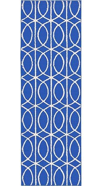 Dunston Blue Area Rug by Ebern Designs